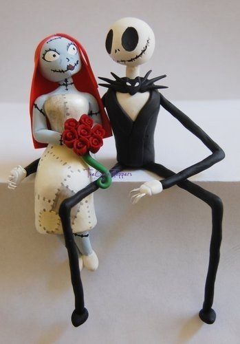 jack and sally wedding cake topper and sally wedding cake topper wedding and bridal 16559