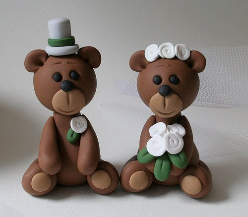 bear wedding cake topper wedding cake topper wedding and bridal inspiration 11201