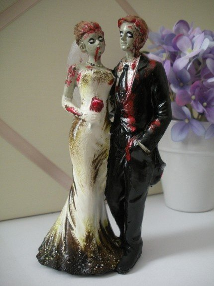 halloween wedding cake toppers wedding cake toppers wedding and bridal 4674