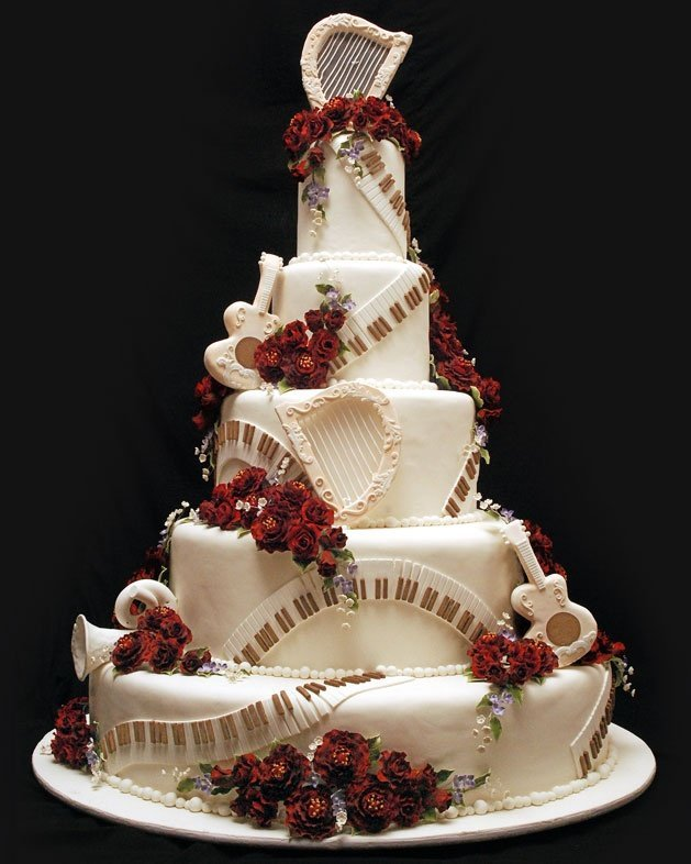 Harps Wedding Cakes Wedding And Bridal Inspiration