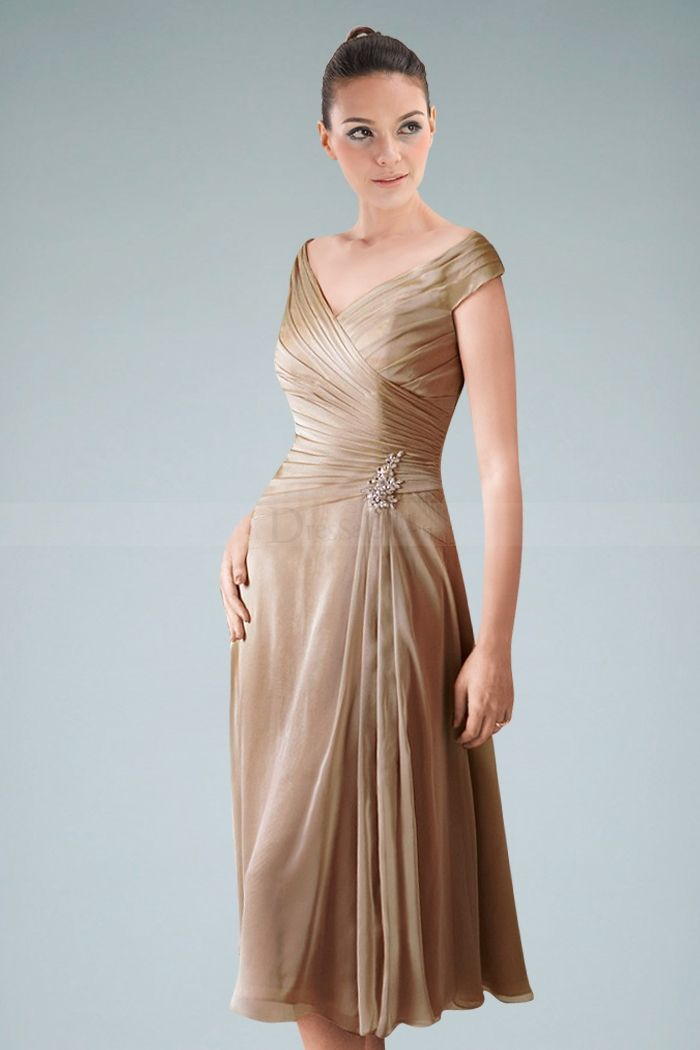 How to Rock in Mother of the Bride Dresses Tea Length ...