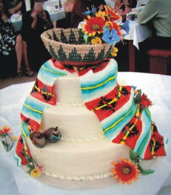 navajo wedding cakes navajo wedding cakes wedding and bridal inspiration 17740