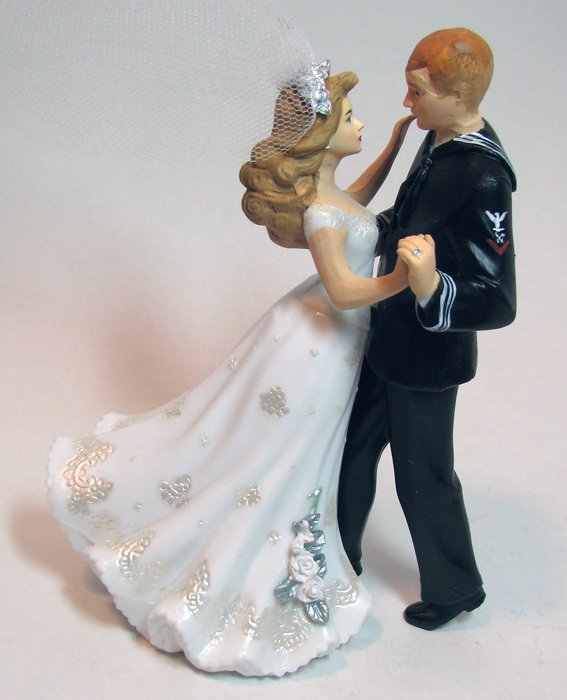 wedding cake toppers military navy navy wedding cake toppers wedding and bridal inspiration 26540