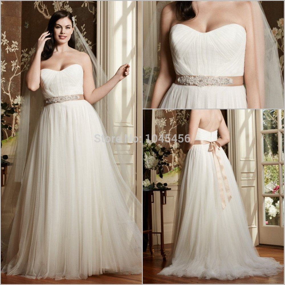 Plus Size Colored Wedding Dresses