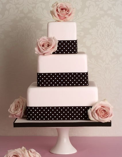 polka dot wedding cakes polka dot wedding cake wedding and bridal inspiration 18681