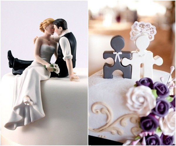 quirky wedding cake toppers unique wedding cake toppers wedding and bridal inspiration 18947