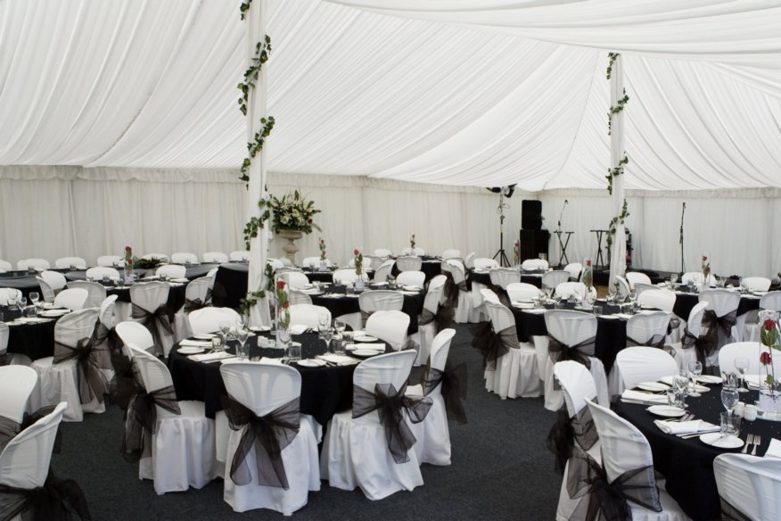 Black And Silver Wedding Decorations