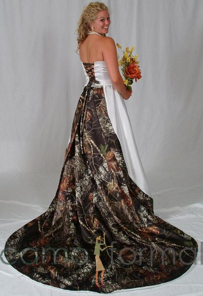 Camo Wedding Gowns Wedding And Bridal Inspiration