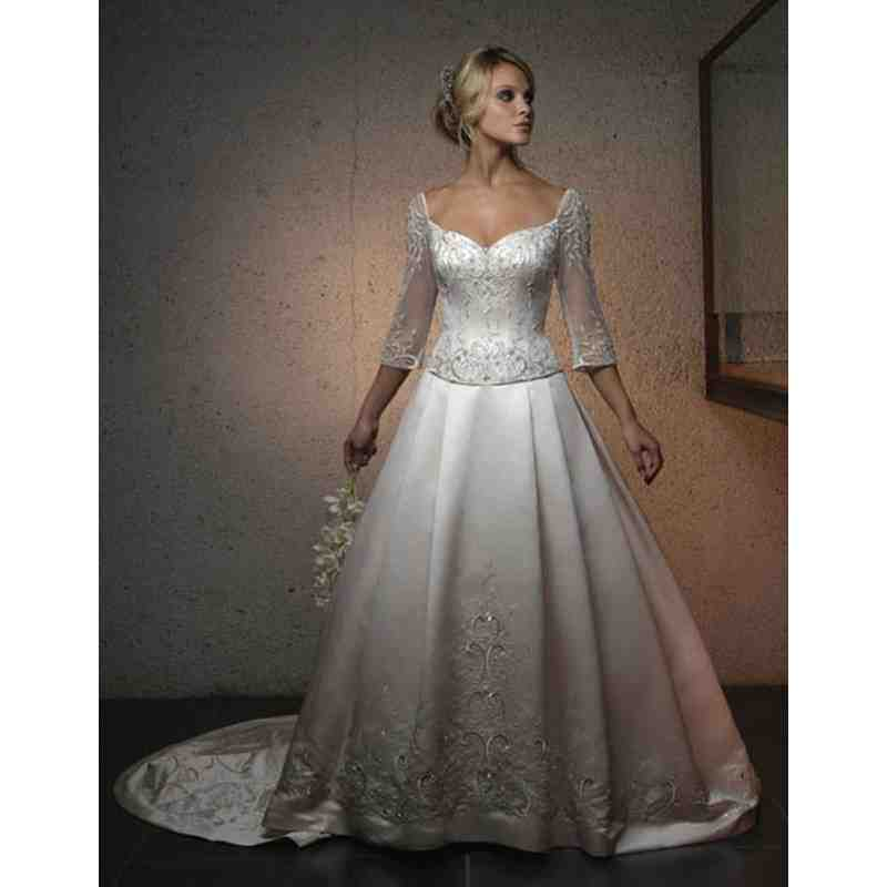Traditional Wedding Dresses With Sleeves