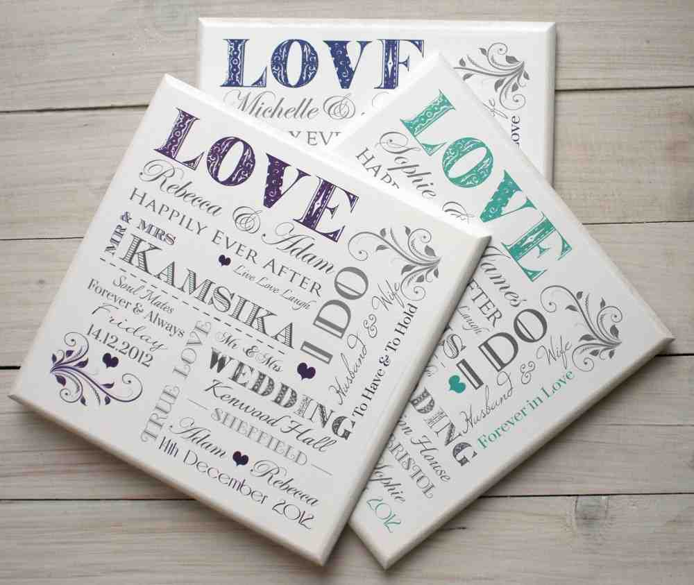 Affordable Wedding Gift: Cheap Personalized Wedding Gifts
