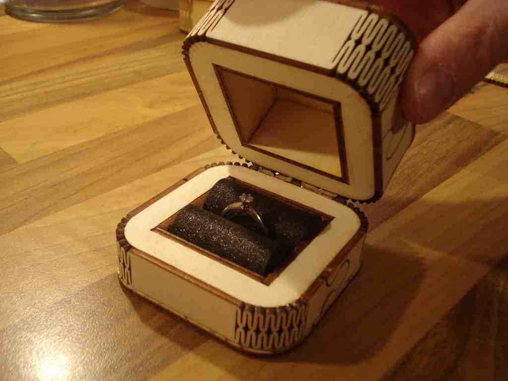 wedding ring box diy engagement ring box wedding and bridal inspiration 9935