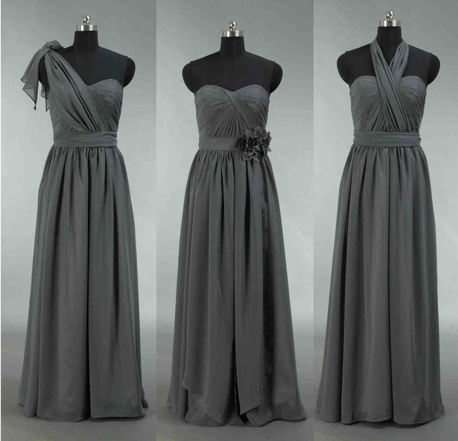 grey wedding dresses grey bridesmaid dresses is the new neutral right for 4625