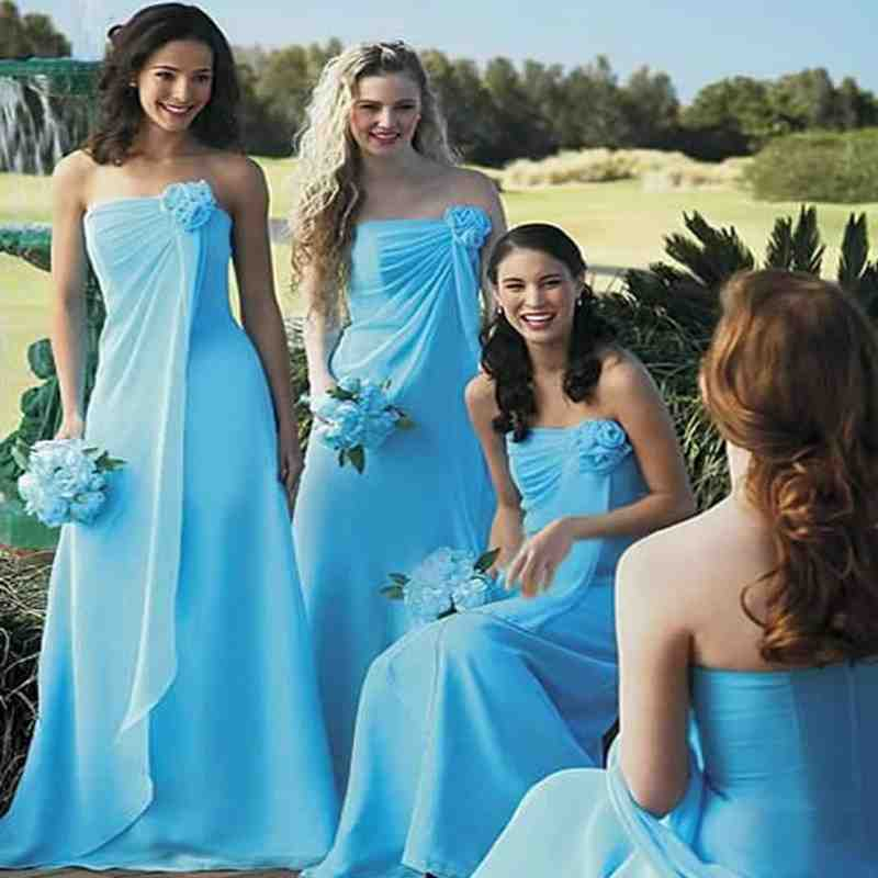 Teal Bridesmaid Dresses Beach Wedding Wedding And Bridal Inspiration,Mermaid Most Popular Wedding Dresses