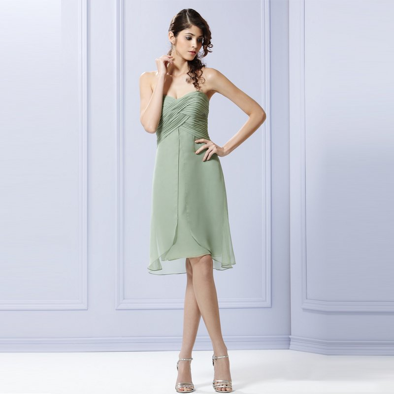 Non Traditional Wedding Dresses With Color: Short Wedding Dresses With Color